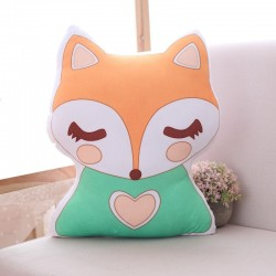 Unicorn and fox shaped stuffed toy - soft pillow