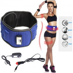 electric slimming - belt lose weight fitness - massage sway vibration abdominal belly