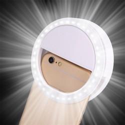 LED ring flash universal - selfie light portable mobile phone - 36 leds selfie lamp luminous ring clip