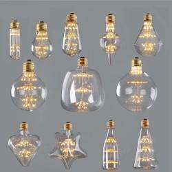E27 - E26 - 3W - 2200K - LED - starry sky - vintage decorative Christmas bulb - dimmable