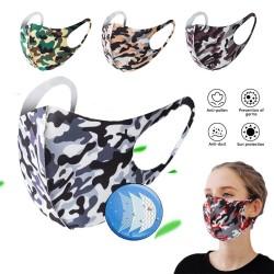Fashionable mouth face mask - anti dust - breathable - washable - sponge mask