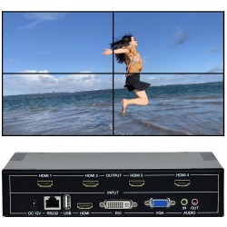 TV Wall Controller For HDMI - DVI - VGA - USB
