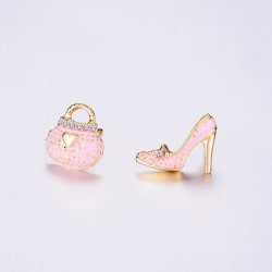 Bag Shoe Earrings - Women