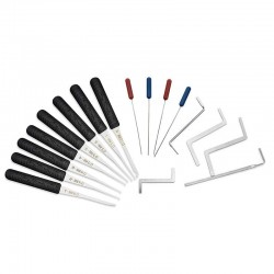 12 Pieces - Lock Pick Set - Locksmith supplies - broken key Auto extractor - stainless steel hooks