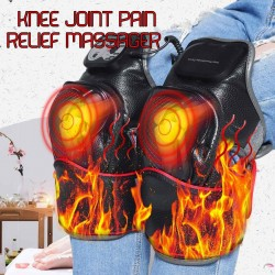 Infrared knee massager - magnetic vibration heating - joints physiotherapy - electric massage - pain relief
