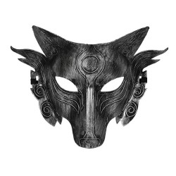 Halloween - cosplay - wolf mask - 2 colours - 1pc - masquerade