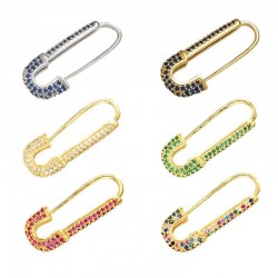 Candy Crystal Brooch - Multi Colors