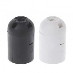 CE approved - E27 - Plastic Lamp - Black - White - 10pcs