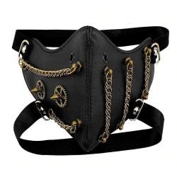 Steampunk Gears - Mask - Gothic
