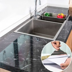 Modern Kitchen Stickers - Waterproof - Oilproof - Marble Pattern