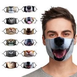 Animal Face Mask - Anti-dust - Reusable
