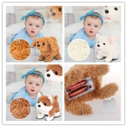 Realistic Teddy Dog - Electric Plush Toy - Children