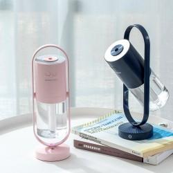 Air Ion Humidifier - 200ML - Ultrasonic - 7 Color Lights