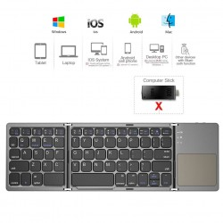 Mini - Folding - Keyboard - Bluetooth - Wireless Keypad