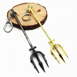 Justice League - Aquaman Trident - Keychain