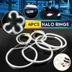 Angel eyes halo rings - lights - led - bmw e36 - 4pcs