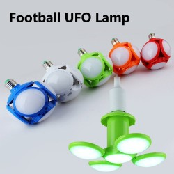 40W E27 - 220V 110V - RGB - LED - foldable bulb - football UFO lamp