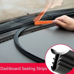 Universal soundproof rubber - rubber seal - dashboard sealing strip - 160cm