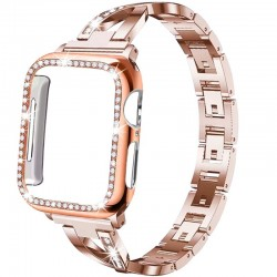 Strap & case for Apple watch - crystal bracelet