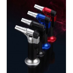 BBQ - cigarettes - butane gas lighter - blue flame - windproof