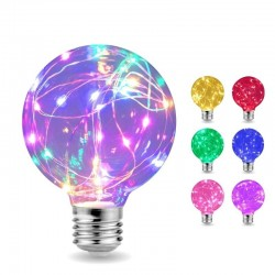 LED - RGB - E27 - 110V 220V - Edison bulb - decorative wires design