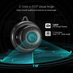 1080p - wireless - mini - home security camera