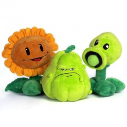 Plants vs zombies stuffed toys