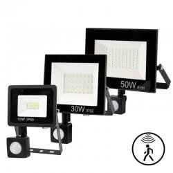 LED flood light - PIR motion sensor - 10W - 30W - 50W - waterproof
