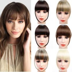 Fringe hair clip - synthetic hair - hair extension