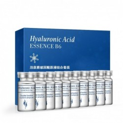 Essences B6 - hyaluronic acid - anti-wrinkle - moisturizing - face collagen ampules - 10 pieces
