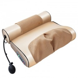 Electric massage pillow - cervical / traction massager - for neck / lower back - pain relief