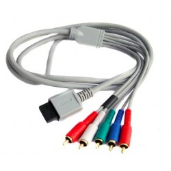 Wii - Wii U HD Component Cable 1.8m