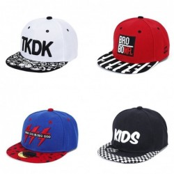 Embroidered hip hop  baseball caps - boys&girls - 3 - 8 years old
