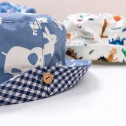 Cute printed bucket hat -...
