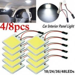 Car interior panel light - LED bulb - SMD - COB - T10 - 4W - 12V