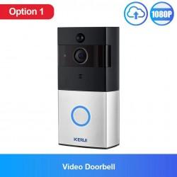 KERUI - 720P doorbell camera - 2MP - wireless - home security