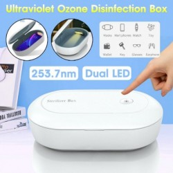 Universal disinfection box - sterilizer - for phones / face masks / toys - UV light - with USB cable