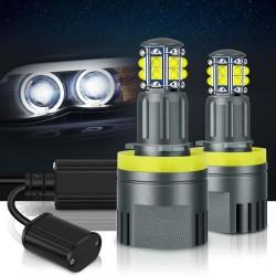 LED angel eyes lights canbus for BMW - LED headlight - 6000k white - 2 pieces
