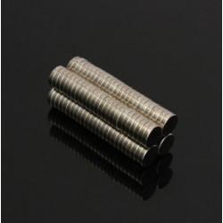 N50 Neodymium Magnet Strong Round Disc 8 * 2mm 100pcs
