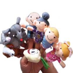 Fairy Tale Finger Puppets Set 8pcs