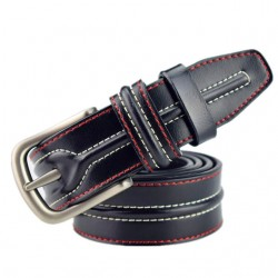 Men's Luxury Leather Pin Buckle Belt