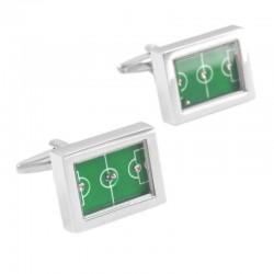 Football field - table-football cufflinks