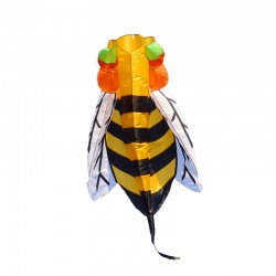 Colorful Bee Nylon Kite 3 Meter