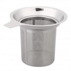 Mesh tea infuser - reusable strainer - stainless steel teapot