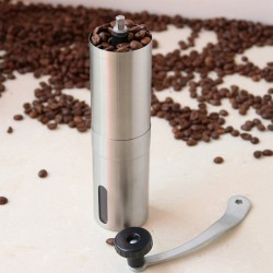 Mini stainless steel manual coffee grinder - mill