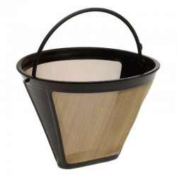 Washable reusable permanent coffee filter