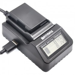 EN-EL14 LCD digital quick multi-use charger for Nikon