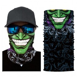 Skull - motorcycle scarf - face mask - balaclava