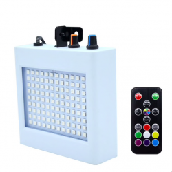 RGB Strobe light - 108 led - flashing - sound activation