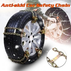 Anti-skid steel wheel car chain 1 pcs